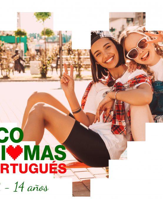 Portugués nivel inicial para niños/as 12-14 años