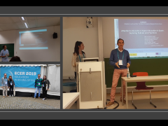 Presentación de resultados de la fase I del proyecto en ECER 2019 (Hamburgo, 3-6 septiembre 2019)