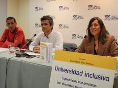 Presentación de una obra colectiva en la UPO sobre universidades inclusivas, dirigida por una investigadora de InclUni (14 noviembre 2019)