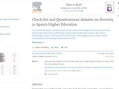 Artículo de datos en Data in Brief, complementario del publicado en Heliyon (1 abril 2021)