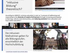 Presentación sobre inclusión en seminario pedagógico de la Technische Hochschule Nürnberg 'Georg Simon Ohm', Alemania (27 mayo 2021)
