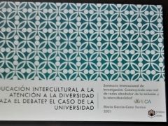 Participación en el I Seminario Internacional de Investigación: Construyendo una red de redes alrededor de la inclusión y la interculturalidad (11-12 mayo 2021)