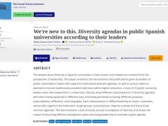 Artículo sobre resultados de la fase II del proyecto, publicado en The Social Science Journal