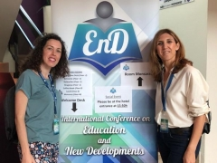 International Conference on Education and New Developments (Oporto, 22-24 junio 2019)