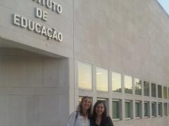 Presentación del proyecto InclUni en Instituto de Educação, Universidad de Lisboa (15-5-2019)