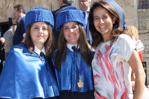 Azahara, Laura y Lourdes