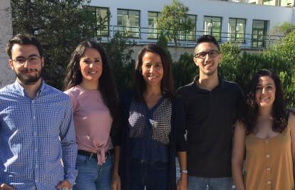 Andrés, Natividad, Lourdes y Mª José