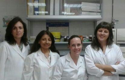 Mª Mar, Janneth, Rocío y Azahara