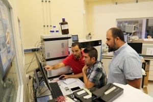 Researchers during their work on data mining
