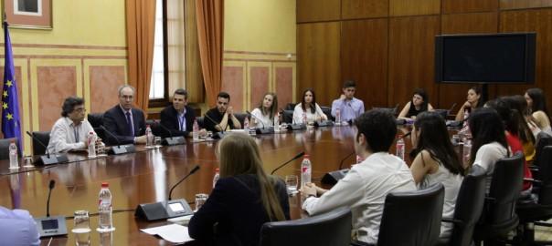 parlamento andaluz y laboratorio