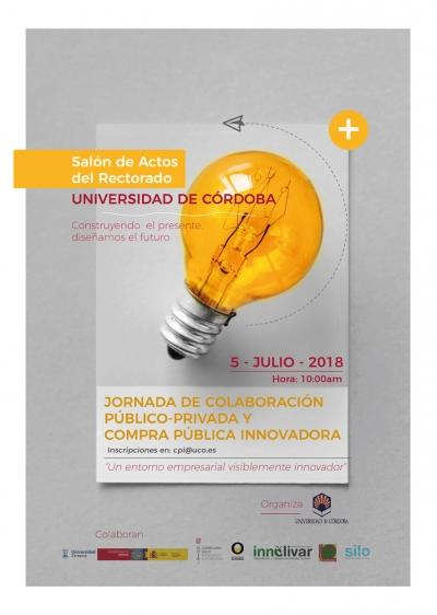 Jornada de colaboración público-privada y de Compra Pública Innovadora en la Universidad de Córdoba