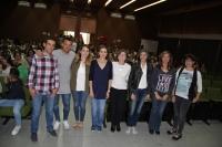 El músico urbano Haze y el IES Guadalquivir presentan en Ciencias de la Educación su proyecto de educación en valores
