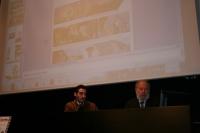 Giuseppe Palimieri (izqda), junto a Cornelio Bergantino