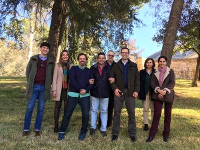 Pedro Sánchez, Rosa Gallardo, José Luis Quero, Adolfo Peña, Juan Vicente Giráldez, Tom Vanwalleghem, Ana Laguna y Pilar Fernández.