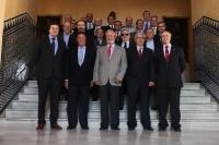 Miembros e la promoción , en el Rectorado