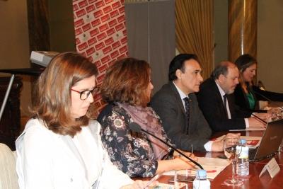 Imagen de la sesión ordinaria del Pleno del Consejo Social celebrada esta mañana.