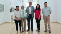 Fotografía de familia del equipo cuyo investigador principal es Lorenzo Salas (centro)