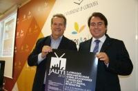 Carlos de Castro (izq) y Juan Ramon Cuadros durante la presentación