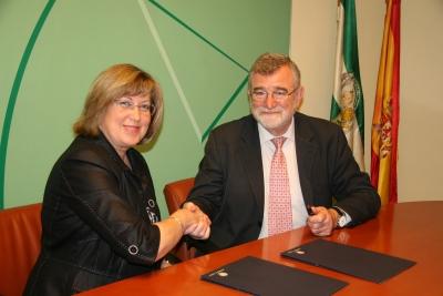 Maria de los Santos Córdoba y Jose Manuel Roldán