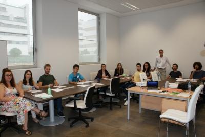 Participantes en el Curso de Iniciativa Emprendedora