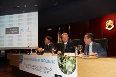 De izquierda a derecha, Ricardo Domínguez, Lorenzo Salas y Rafael Herrador en la clausura de las jornadas.