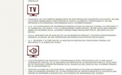 Imagen de la nueva fisonomía del Dossier de Prensa