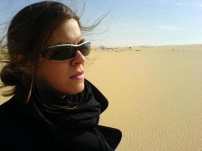 Mónica García Prieto cuenta su experiencia como corresponsal de guerra en una charla en la UCO