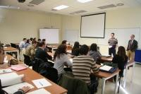 Imagen de la reunión celebrada en el Rectorado