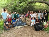Foto de familia de participantes en la actividad Ecocampus