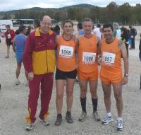 Equipo de la UCO que participó en la modalidad de 5.000 metros