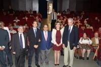 Autoridades en la inauguración del curso académico de la Cátedra Intergeneracional