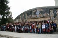 Participantes en el Café con Ciencia de 2011