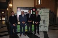 De izqda. a dcha. Daniel Padilla, Antonio Arenas, José Carlos Gómez Villamandos y Arnaldo Cabello