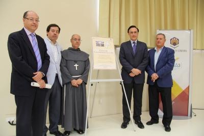 De izquierda a derecha, Antonio Cubero, Miguel Ángel Caracuel, el hermano Juan Miguel, José Carlos Gómez Villamandos y Anselmo Perea