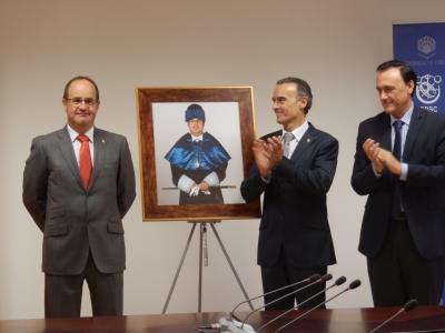 De izquierda a derecha, Francisco J. Vázquez, Juan J. Luna Rodríguez y José Carlos Gómez Villamandos.