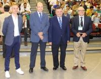 De izquierda a derecha, Jose M. Lacarte, A.Cubero, F. Zurera y D. Barranco