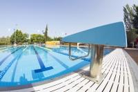 Imagen de la piscina del Campus de Rabanales.
