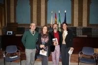 De izqda. a dcha., Alberto Ríos, María Rosal, Octavio Salazar y Carmen Jiménez