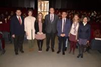 Foto de familia de autoridades asistentes a la inauguración de las jornadas