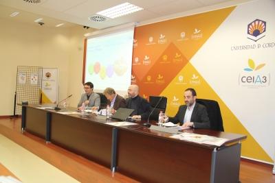 De izquierda a derecha, Pablo García Casado, Sami Naïr, Luis Medina y Javier Rosón