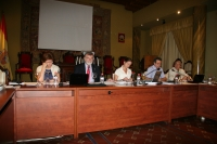 Un momento del pleno del Consejo Social
