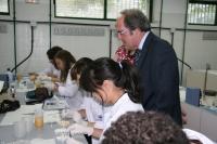 El ministro de Educación visita el campus científico de verano