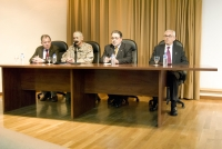 De izq a dcha, Enrique Aguilar, Jose Maria Granero, José Naranjo y Jose Manuel de Bernardo.