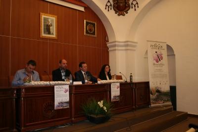 De izquierda a derecha, Víctor Montoro, Miguel Ruz, Eulalio Fernández y Carmen Mª Gómez.