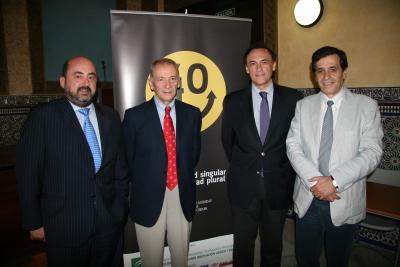 Manuel Torres, Luis Oro, Jose Carlos Gómez y Manuel Blázquez
