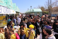 Imagen del Paseo por la Ciencia, celebrado el pasado sábado en el Vial Norte.