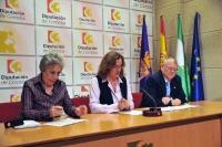 Un momento de la rueda de prensa de presentación de las Jornadas
