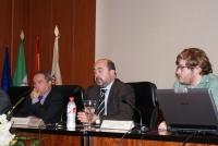 De izq. a dcha. Francisco Villamandos, Manuel Torres y Juan Miguel Almansa