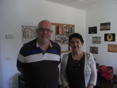 Pilar Martínez y Gerardo Pedrós