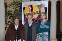 DE izq a dcha. Pilar Sanabria, Fernando Colomo, Carmen Blanco